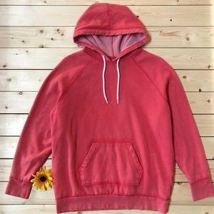Mossimo Pullover Distressed Sweatshirt